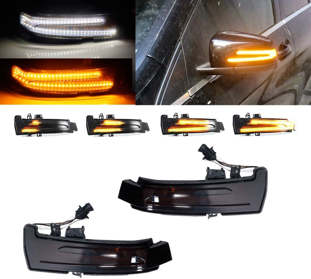 Smoked Lens Dynamic Sequential Blink Side Mirror Signal mart LED Sale Special Price Turn
