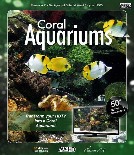 Plasma Art-Coral Aquariums [Blu-Ray] [Import]