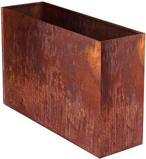 MK Designs Corten Steel Edge Planter, 44