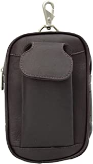 Piel Leather Carry-All Golf Case, Chocolate, One Size