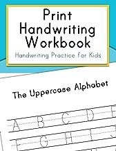 Print Handwriting Workbook: Handwriting Practice for Kids