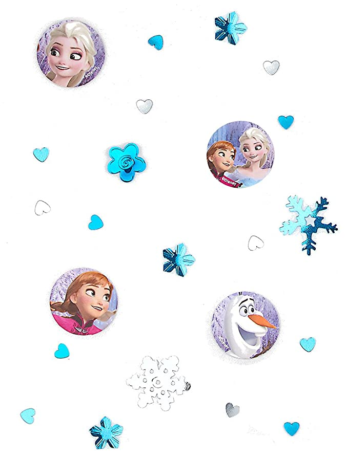 3 Bags Confetti Frozen - The Ice Queen For Kid's Birthday And Theme Party Party
