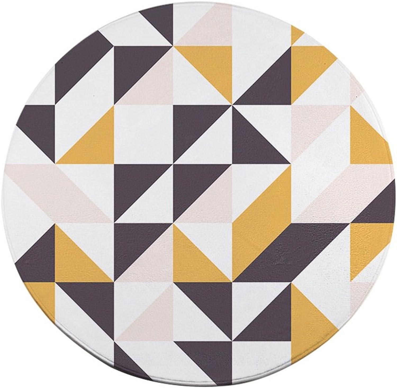 Teppich-Wohnzimmer kann staubdichter runder kreativer Teppich für Esszimmer-Korridor-Schlafzimmer-Halle Sein (größe   Diameter80cm) B07FPFYZ7V Für Ihre Wahl     | Online Outlet Store