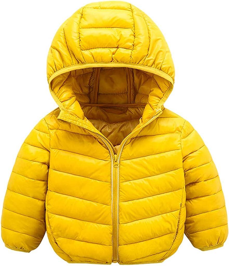 Baby Winter Jacket Coat Kids Hooded Lightweight Puffer Bo New sales shopping