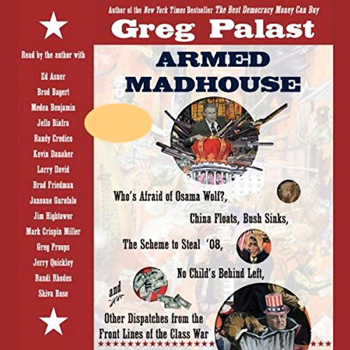 Armed Madhouse audiobook cover art
