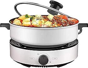 JSMY Pot à Fondue électrique avec contrôle de la température,Pot Amovible-Parfait pour Le Chocolat,Le Caramel,Le Fromage,L...