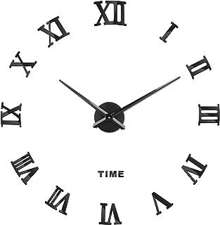 comprar comparacion SOLEDI Reloj de Pared 3D DIY Reloj de Etiqueta de Pared Decoración Ideal para la Casa Oficina Hotel Restaurante