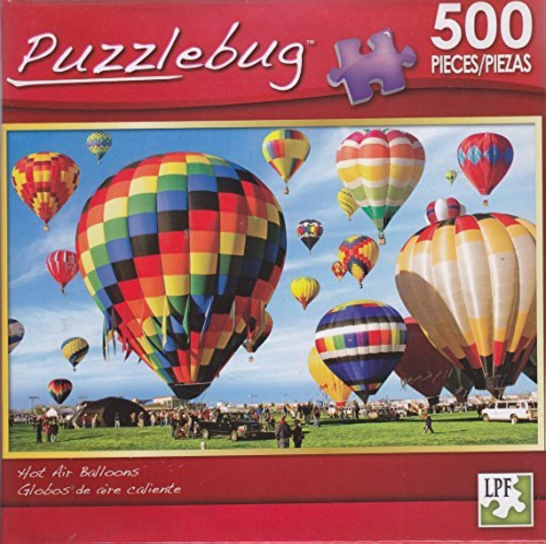 Puzzlebug 500 Piece Puzzle  Hot Air Balloons by Puzzlebug