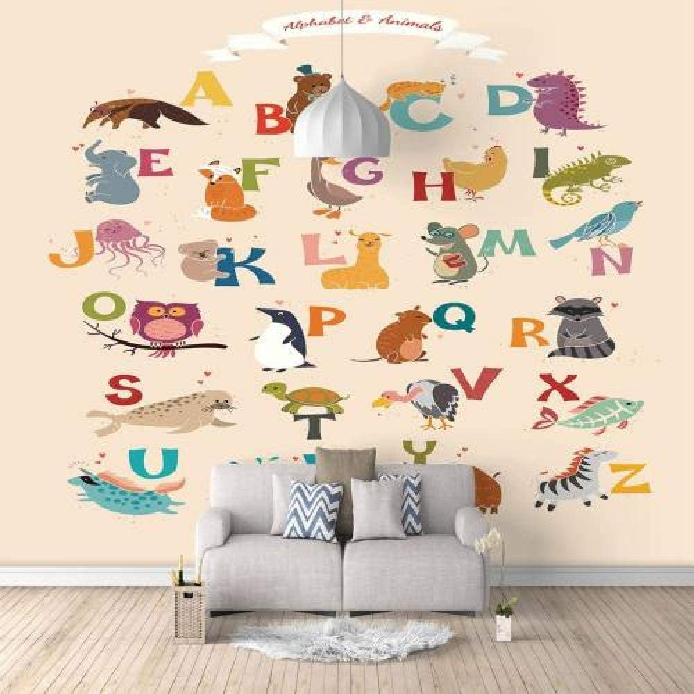 Wall Now on sale Mural Cartoon Beauty products Animal Letter 157