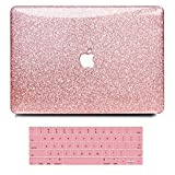B BELK MacBook Pro 13 Inch Case 2020 2019 2018 2017 2016 Release A2338 M1 A2251 A2289 A2159 A1989 A1706 A1708, Shinig Crystal Smooth Plastic Hard Case with Keyboard Cover, Mac Pro 2020 Case Touch Bar