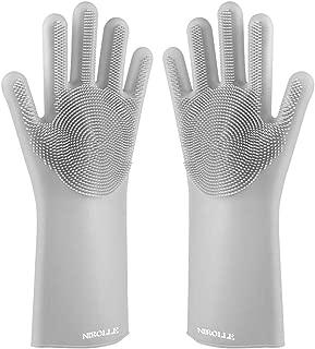 washing gloves with sponge