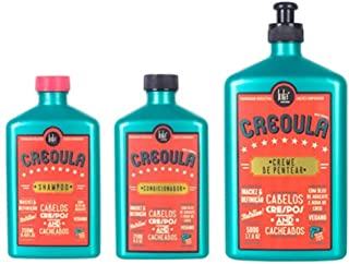 Lola Kit Creoula: Shampoo, Condicionador E Creme De Pentear