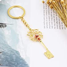 Adebie - The Nutcracker and The Four Realms Clara Mysterious Key Necklace Keychain Cosplay Prop Jewelry Accessories Action & Toy Figures