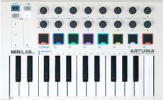Teclado Arturia 230501MiniLab MkII, 25notas, controles, color blanco
