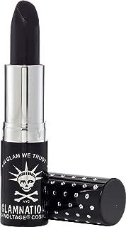 Manic Panic Raven Lethal Lipstick - Light Creamy Black Lipstick - Creamtones Lipsticks Have A Buttery Semi-matte Finish - Cruelty Free - Long Lasting Moisturizing Black Lip stick
