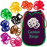 Genius Baby Project Genius Rings Chinese Jacks Toy Educational Math Counting Rings