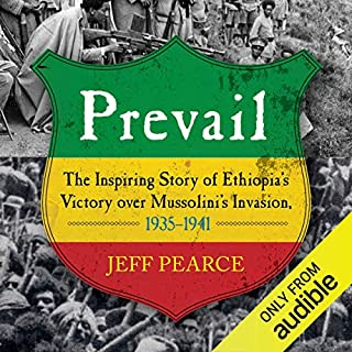 Prevail audiobook cover art
