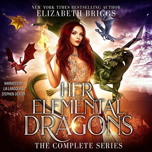 Her Elemental Dragons Audiobook By Elizabeth Briggs cover art