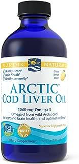 Nordic Naturals - Arctic CLO, Heart and Brain Health, and Optimal Wellness, Lemon, 8 Fl Oz