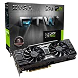 EVGA GeForce GTX 1060 3GB FTW+ GAMING ACX 3.0, 3GB GDDR5, LED, DX12 OSD Support (PXOC) Graphics Cards 03G-P4-6367-KR