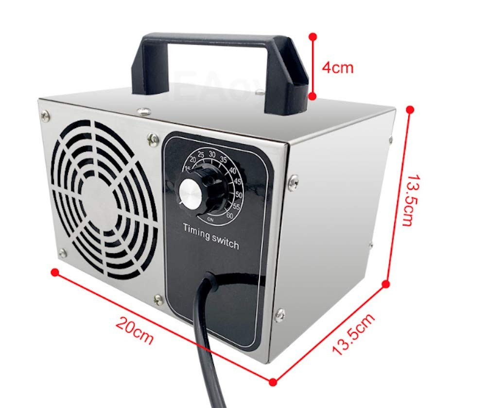 Tech3 Generador de Ozono 10.000 MG. Purificador de Aire, Ionizador ...