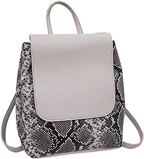 Kwok Women Fashion Snake Pattern Ladies Backpack Shoulder Messenger Bag Mobile Phone Bag Crossbody Bag Shoulder Bag Wallet Mobile Phone Bag