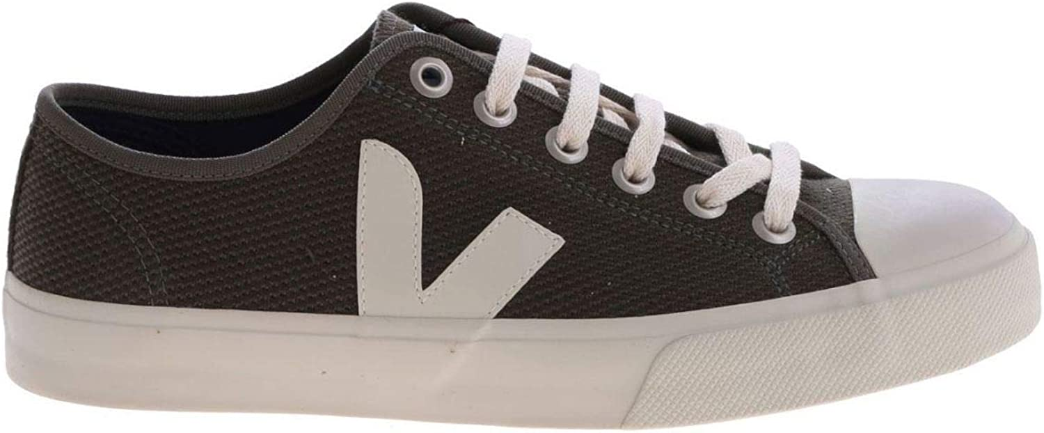 VEJA Men's WTM011667 Green Fabric Sneakers