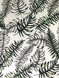 De'Carpet Mantel Antimanchas Plastificado Hule Helechos (100x140cm)