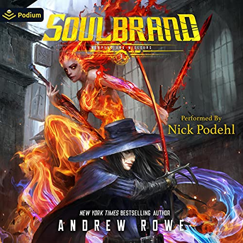 Soulbrand Audiobook By Andrew Rowe cover art