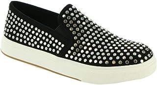 Steve Madden Women's Coulter Skate Shoe, Black Multi, 8.5
