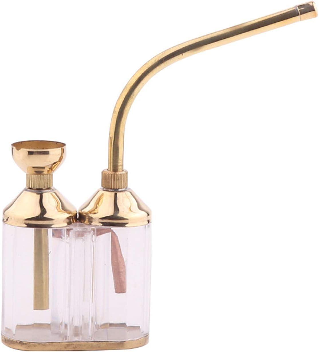 Hookah Arabian Hookah Versión familiar Flexible y compacta Hookah Glass Hookah, fácil de transportar al viajar, Casilla completa con cabeza de manguera