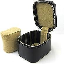 [DUCT] 腕時計ケース 1本 持ち運び 牛革 本革製 おしゃれ レザー DUCT(ダクト) LA-855 (ブラック)