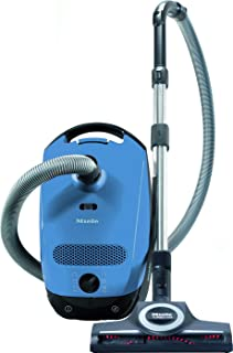 Miele Classic C1 Turbo Team Canister Vacuum Cleaner, Mystique Blue