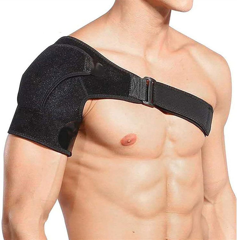 HTTDD Shoulder Don't miss Limited price the campaign Brace Sports Pressurized Pads Adjustabl