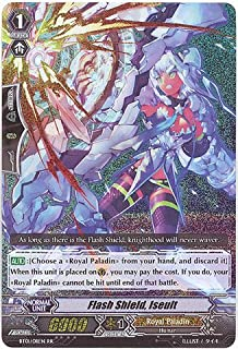 Cardfight!! Vanguard TCG - Flash Shield, Iseult (BT01/011EN) - Descent of the King of Knights