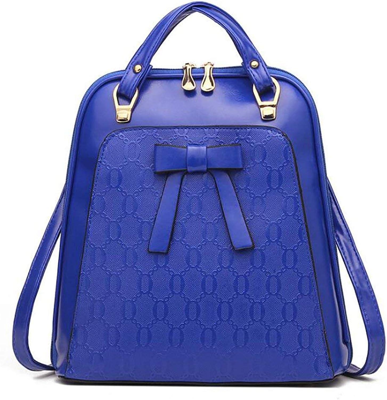 Amayay Daypacks Erwachsene Vintage Backpack Stylisch Fashion Damen Tasche Casual Multifunktions Einfacher Stil Leder Rucksack Handtasche Pu 28  12  30Cm (Farbe   Colour, Größe   One Größe)