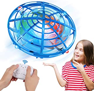 Innoo Tech UFO Drones for Kids with Gamepad Remote Control, Hand-Controlled Drone With 5 Infrared Sensors 360°Rotating and...