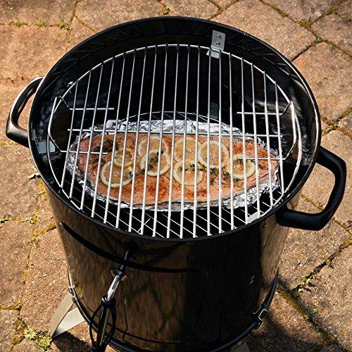 "Cuisinart COS-118 Vertical 18"" Charcoal Smoker, Black"
