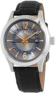 Lucien Piccard Men's LP-40020-014-RA Oxford Analog Display Quartz Black Watch