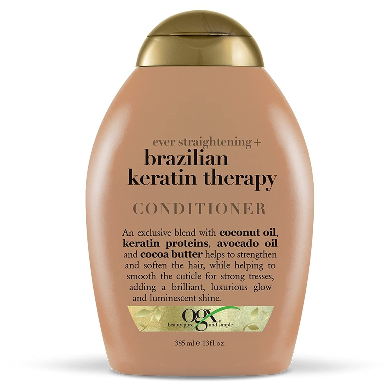 サージ活力怒っているOrganix Conditioner Brazilian Keratin Therapy 385 ml (並行輸入品)