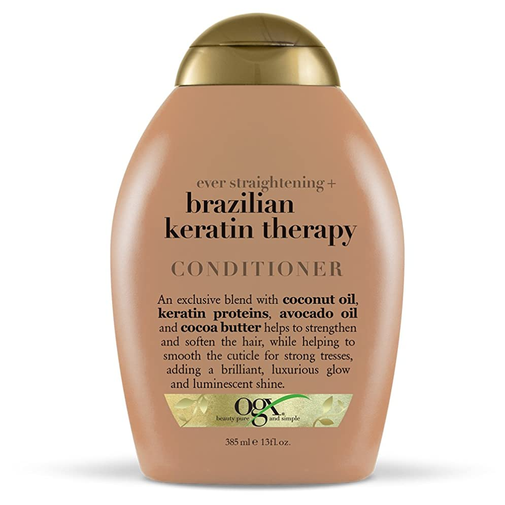 愛されし者陸軍送るOrganix Conditioner Brazilian Keratin Therapy 385 ml (並行輸入品)