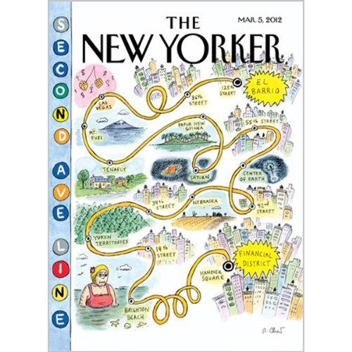 The New Yorker, March 5th 2012 (Nick Paumgarten, Jonah Lehrer, James Surowiecki) cover art