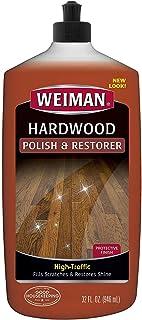 ملمع ومصفف الأرضيات الخشبية من ويمان - 946 جم - الأرضيات الصلبة ذات الزحام، لمعان طبيعي، يزيل الخدوش، يترك طبقة واقية