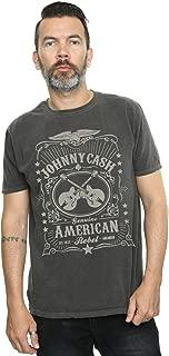 Johnny Cash Men's American Rebel Washed T-Shirt