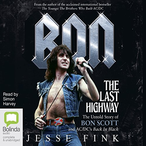 Bon: The Last Highway audiobook cover art