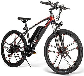 Leobtain bicicletta elettrica pedalata assistita, con freno a disco posteriore anteriore