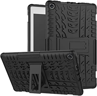 Alimao For Amazon Kindle Fire HD 8 2017/2018 Hybrid Rubber Stand Case Cover Clearance sale