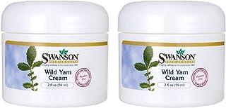 Swanson Wild Yam Cream 2 fl Ounce (59 ml) Cream (2 Pack)