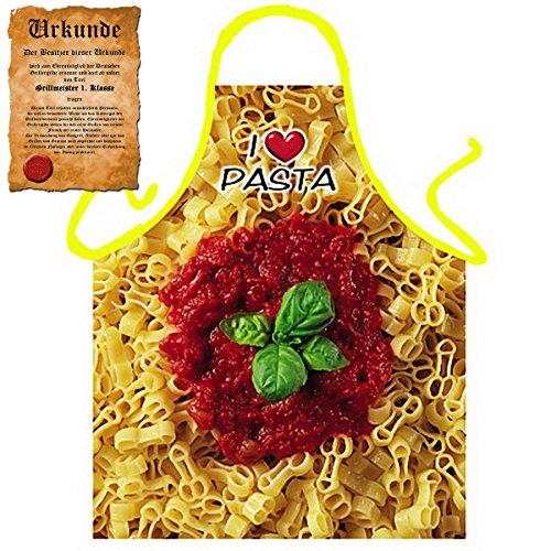 Tini - Shirts Italienische Kochschürze für Pasta Liebhaber : Pimmelpasta !! mit GRATIS Urkunde !!