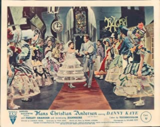 Nostalgia Store Hans Christian Andersen Danny Kaye Original Lobby Card Zizi Jeanmarie